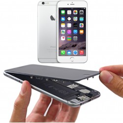 """Changement Vitre + LCD  iPhone 6S Plus- 5,5"""" (noir/blanc)"""