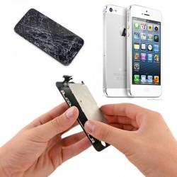 Changement Vitre + LCD  iPhone 5  (noir/blanc)